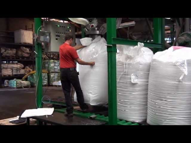 Portable Big bag FIBC filling machine e-m-t.nl