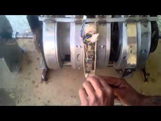 (Видео 3) Pakistani inventor Claims to Invent free Electric Generator part 2