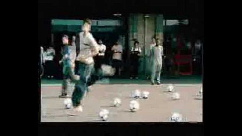 Adidas Soccer Commercial Beckham Zidane Del Piero Kluivert