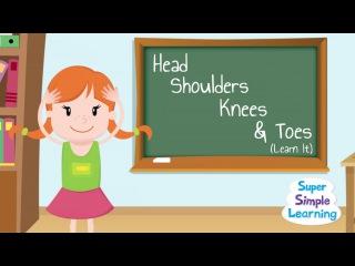 Head Shoulders Knees Toes (Learn It)