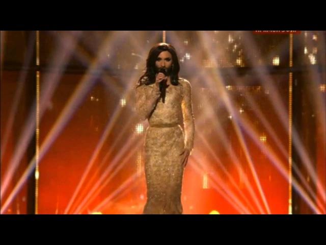 Евровидение 2014 Кончита Вурст Финальная песня Eurovision 2014 Conchita Wurst