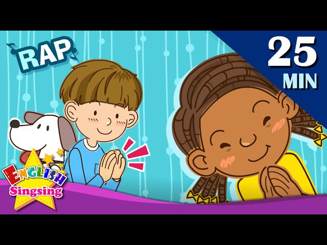 What's this?More Kids raps | English songs for Kids | Collection of Animated Rhymes