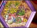 Декупаж Делаем бумагу ручной работы и декорируем панно и тарелочку Мастер класс Наташа Фохтина