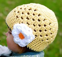 Летние шапочки на малышей. (6 фото) - картинка