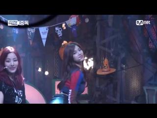 151022 TWICE - Like OOH-AHH (Tzuyu focus) @ Mnet M!Countdown