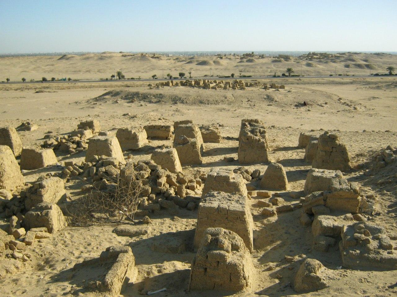 древнее поселение около Эль Файюм