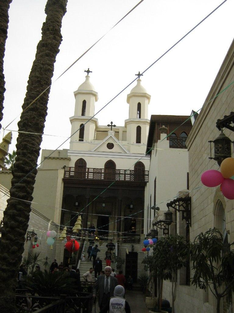 Церковь Святой Марии в христианском квартале Каира