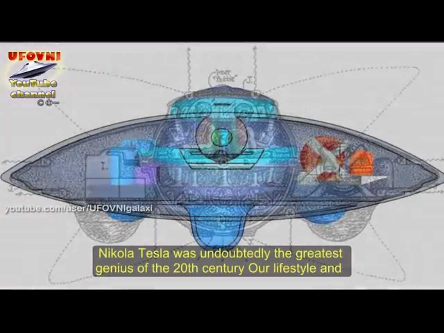 THE UFO OF NIKOLA TESLA: MAGNETISM AND ANTIGRAVITY