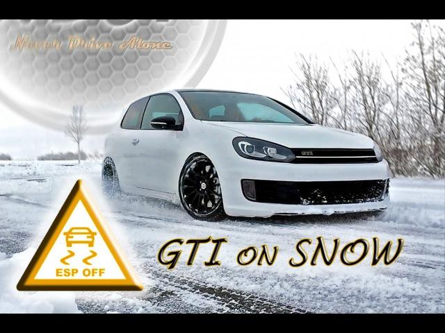 [ GTI on Snow ] ★ Turbo Sound ★ BullX Klappenauspuff ab Turbo ★ VW Golf 6 GTI ★ MK6 [HD]