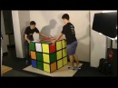 Solving the world's largest Rubik's Cube Feliks Zemdegs Mats Valk