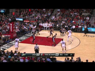 HD Utah Jazz vs Portland Trail Blazers | Highlights | April 11, 2015 | NBA Season 2014/15