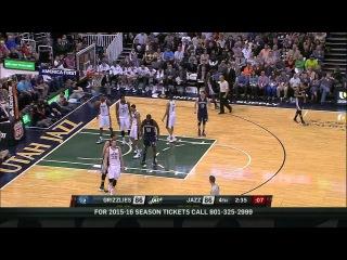 HD Memphis Grizzlies vs Utah Jazz | Full Highlights | April 10, 2015 | NBA Season 2014/15