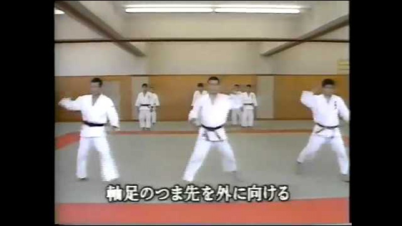 柔道 Educatifs ashi baraï 岡野功 I