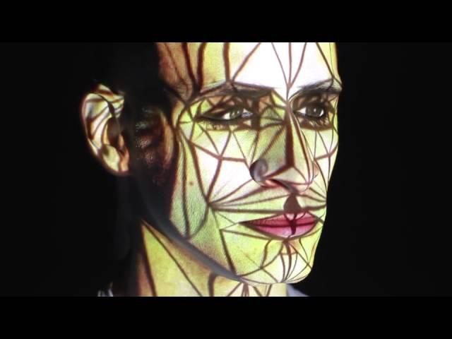 Human Face Video Mapping by Oskar Gaspar