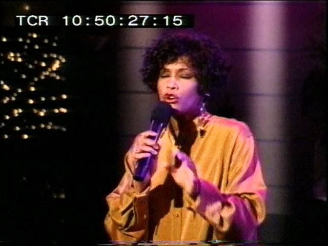 Whitney Houston performance - Des O' Connor Tonight in Hollywood