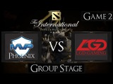Dota 2 The International 2015 MVP Phoenix vs LGD