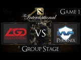 Dota 2 The International 2015 LGD vs MVP Phoenix