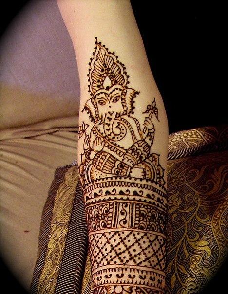 Mehndi Elephant Meaning : Adorable ganesh mehndi designs styles at life