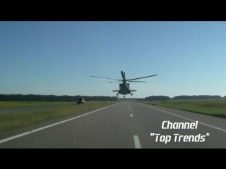 Glory to Ukraine  Incredible Ukrainian pilot flying in a helicopter_HD