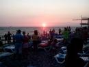Провожаем солнышко на пляже Лазаревское взморье