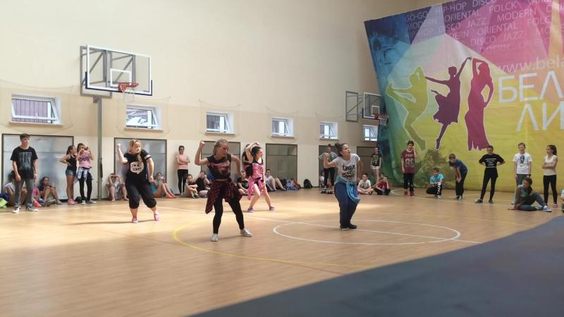 Saoudi mo chareography\Belarus dance camp