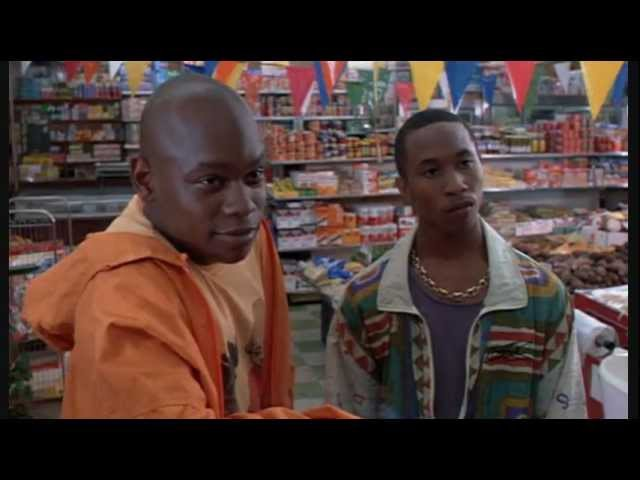 Strapped (1993) - Grocery Store Clip