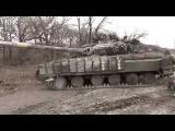Углегорск подбитые и захваченые танки едут на рембазу ДНР украина новости