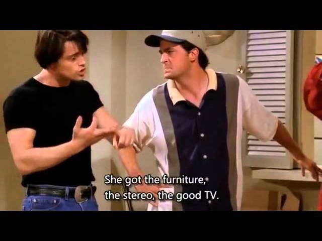 Friends S01E01 - Best of Friends season 1 episode 1 - top funny moments 3