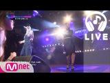 [언프리티랩스타2 LIVE] 전지윤&키디비 - 사랑 할 때 아니야(Money) (feat. 박재범) 151002 EP.04