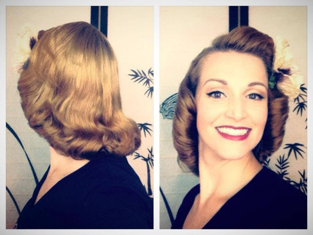 The 1940's /1950's Pageboy Tutorial-Basic Authentic Methods