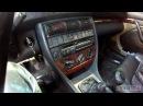 Audi A6 C4 Gamma или Delta разблокировка родной магнитолы и подключение козыров с подсветкой