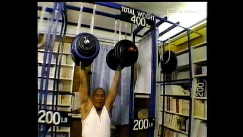 Духовная сила в поднятии тяжестей