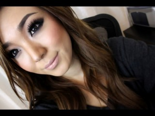 How To: Smokey Eyes Using 3 Colors with Matching Blush and Nude Lips