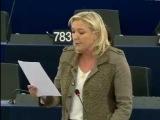 Marine Le Pen s'