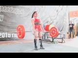 Gunel Talybova deadlift 175 kg