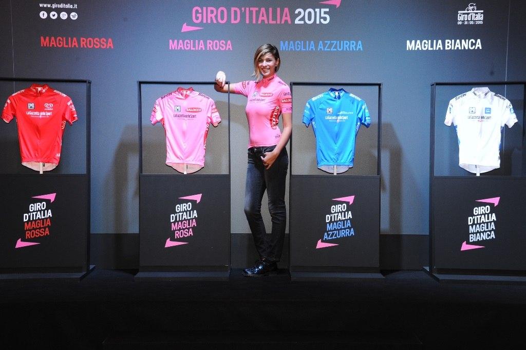 Новый дизайн маейк Джиро д'Италия - 2015