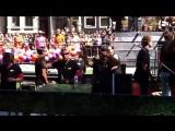 Louis van Gaal, Patrick Kluivert and Ronald de Boer at Amsterdam Gay Pride 2013