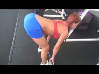 Butt Lift Workout in Gym with Deadlifts!!