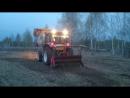 Мульчер. Убрали старую траву и кусты. мой первый день тракториста. BERRYMORE.me