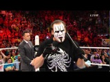 Sting cuts promo on Triple H (WWE Network Exclusive)