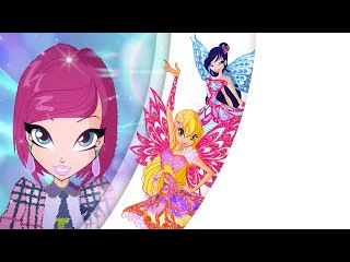 Winx Club: 7x03 - Butterflix transformation // Winx Present DUB