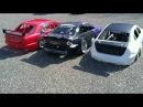 RC CARS 1 5 FG BMW FG MERCEDES C5 AMG C5 FORD MUSTANG NETTO Parkplatz BAD RAPPENAU