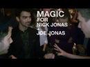 NICK JONAS JEALOUS over CRAZY MAGIC w/Joe Jonas | Collins Key