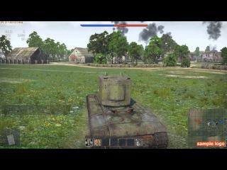 Вар Тандер Советская техника 2-3 ранг Обзор Танков War Thunder