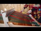 МАСТЕР-КЛАСС Ткачество на ручном ткацком станке ОПТИМА-МИНИ /ЭКОЯР/