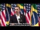 Obama's Speech in Rio with subtitles Discurso de Obama no Rio Legendado Inglês