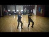 Dexter Santos &amp Joe DeMers - Hound Dog Blues Solo Dance Routine