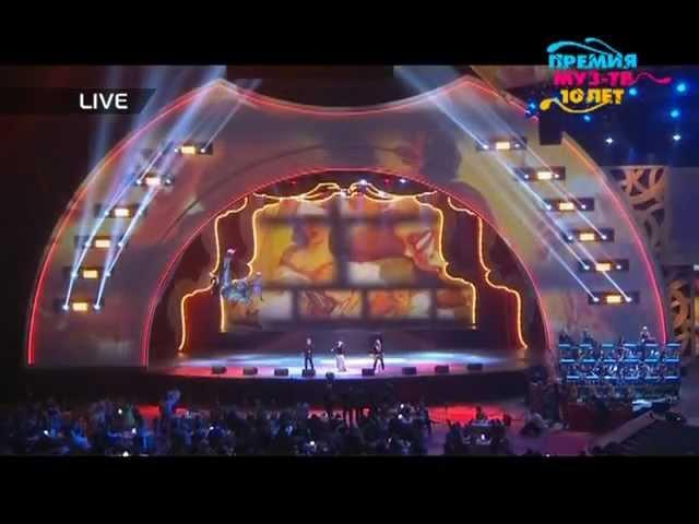 Би-2 и Ёлка - Коламбия Пикчерз (Премия Муз-ТВ 2012)