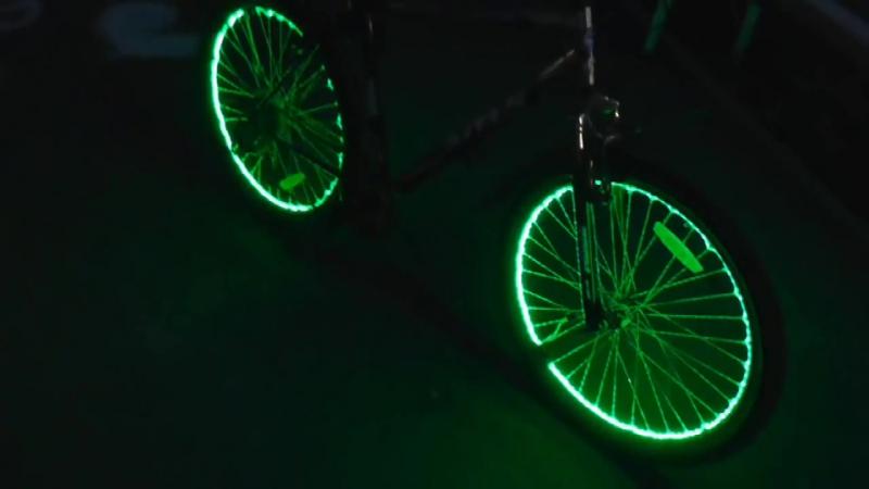 Как сделать подсветку колес велика ( Make Home 39)