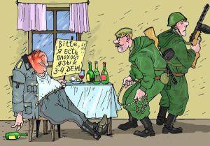 Пьяные украинские военные забывают в кафе Славянска автоматы, — очевидцы